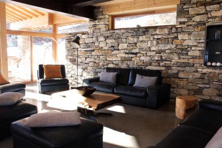 Vacances en montagne Chalet Alpinium 1 - Tignes - Séjour