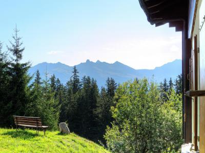 Vacances en montagne Chalet Altitude 1900 - Thyon - Extérieur été