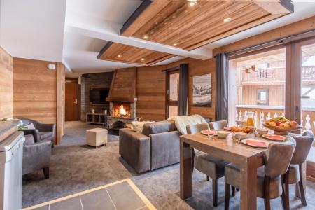 Vacances en montagne Appartement 3 pièces 4 personnes - Chalet Altitude - Val Thorens - Salle à manger