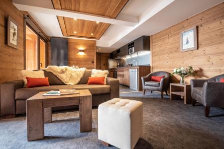 Vacances en montagne Appartement 3 pièces 4 personnes - Chalet Altitude - Val Thorens - Séjour