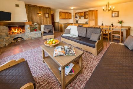 Vacances en montagne Appartement 4 pièces 6-8 personnes - Chalet Altitude - Les Arcs - Séjour