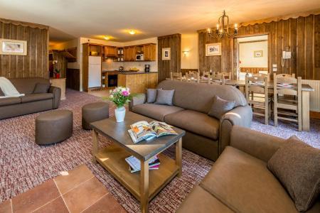 Vacances en montagne Appartement 6 pièces 10-12 personnes - Chalet Altitude - Les Arcs - Séjour