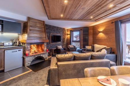 Vacances en montagne Appartement 6 pièces 10 personnes - Chalet Altitude - Val Thorens - Salle à manger