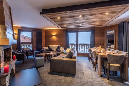 Vacances en montagne Appartement 6 pièces 10 personnes - Chalet Altitude - Val Thorens - Séjour