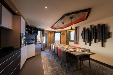 Vacances en montagne Appartement 7 pièces 12-14 personnes - Chalet Altitude - Val Thorens - Cuisine