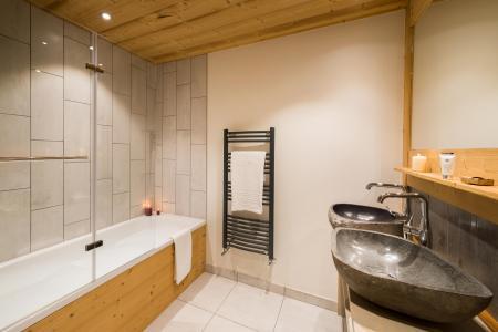 Vacances en montagne Appartement 7 pièces 12-14 personnes - Chalet Altitude - Val Thorens - Salle de bains