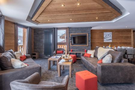Vacances en montagne Appartement duplex 6 pièces 10 personnes - Chalet Altitude - Val Thorens - Canapé