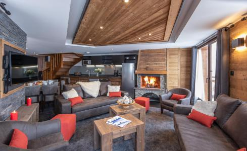 Vacances en montagne Appartement duplex 6 pièces 10 personnes - Chalet Altitude - Val Thorens - Séjour