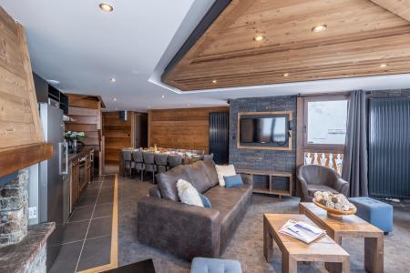 Vacances en montagne Appartement duplex 7 pièces 12 personnes - Chalet Altitude - Val Thorens - Banquette