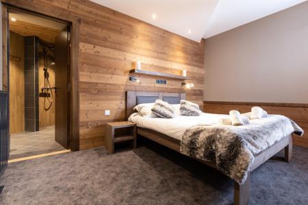 Vacances en montagne Appartement duplex 7 pièces 12 personnes - Chalet Altitude - Val Thorens - Chambre