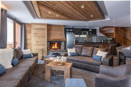 Vacances en montagne Appartement duplex 7 pièces 12 personnes - Chalet Altitude - Val Thorens - Séjour