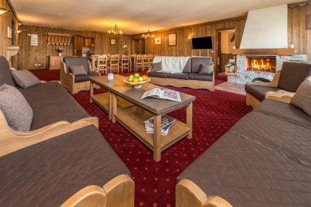 Vacances en montagne Appartement duplex 8 pièces 14-16 personnes - Chalet Altitude - Les Arcs - Banquette