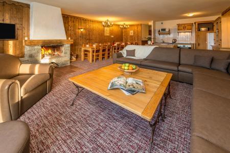Vacances en montagne Appartement duplex 8 pièces 14-16 personnes - Chalet Altitude - Les Arcs - Séjour