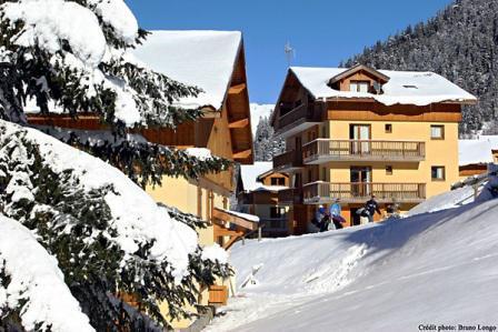 Rent in ski resort Chalet Arrondaz C - Valfréjus - Summer outside