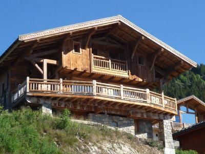 Rent in ski resort Chalet Artiste - Les Saisies - Summer outside