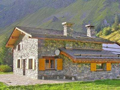 Holiday in mountain resort Chalet Au Coeur de la Vanoise - Champagny-en-Vanoise - Summer outside
