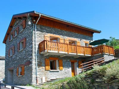 Location au ski Chalet Balcon Cime de Caron - Les Menuires - Extérieur été