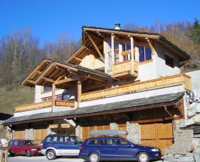 Location au ski Chalet triplex 9 pièces 14 personnes - Chalet Balcon Du Paradis - Peisey-Vallandry - Extérieur été