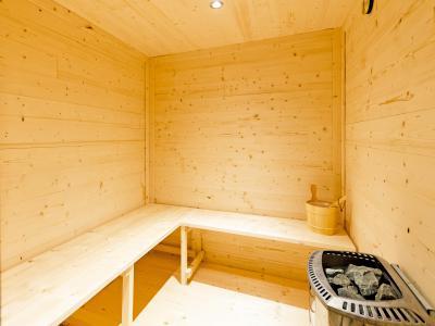 Vacances en montagne Chalet Balcon du Paradis - Peisey-Vallandry - Sauna