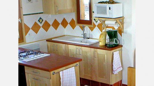 Vacances en montagne Chalet Ballade - Les Menuires - Cuisine