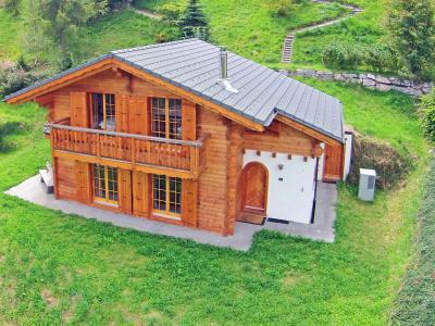 Vacances en montagne Chalet Bellevue - La Tzoumaz - Extérieur été