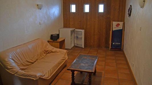 Vacances en montagne Chalet Brequin - Les Menuires - Canapé