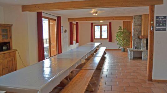 Vacances en montagne Chalet Brequin - Les Menuires - Coin repas
