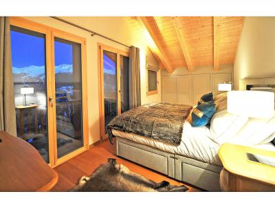 Holiday in mountain resort Chalet Brock - Thyon - Bedroom