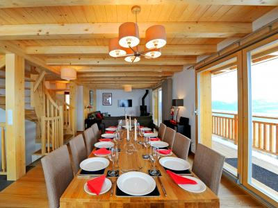 Vacances en montagne Chalet Brock - Thyon - Salle à manger