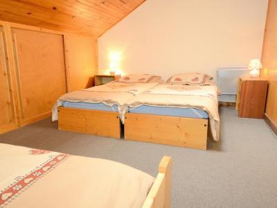 Vacances en montagne Chalet Carella - Champagny-en-Vanoise - Chambre mansardée