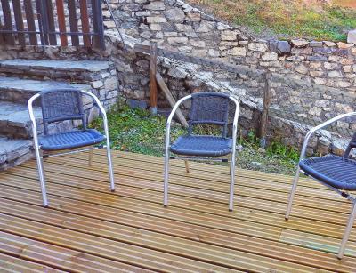 Vacances en montagne Chalet Carella - Champagny-en-Vanoise - Terrasse