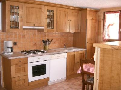 Holiday in mountain resort 2 room apartment 4 people - Chalet Ch'Armand - Le Grand Bornand - Kitchen