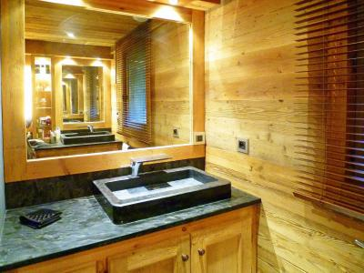 Holiday in mountain resort Chalet Champagny Cpg01 - Champagny-en-Vanoise - Bathroom