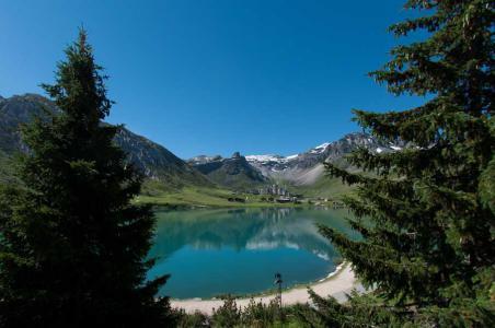 Rent in ski resort Chalet Chardonnet - Tignes - Summer outside