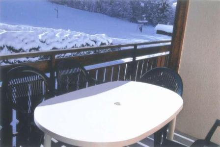Holiday in mountain resort Chalet Charvin - Le Grand Bornand - Balcony