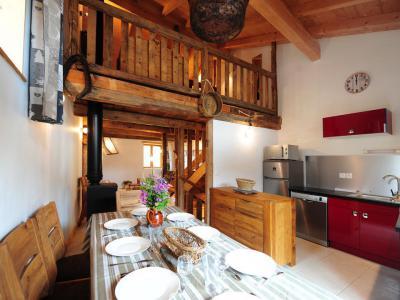 Wakacje w górach Apartament 3 pokojowy z antresolą 7 osób () - Chalet Christophe et Elodie - Les Menuires - Pokój gościnny