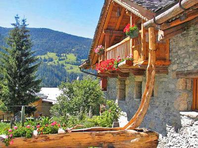 Location au ski Chalet Coeur du Paradis - Peisey-Vallandry - Extérieur été