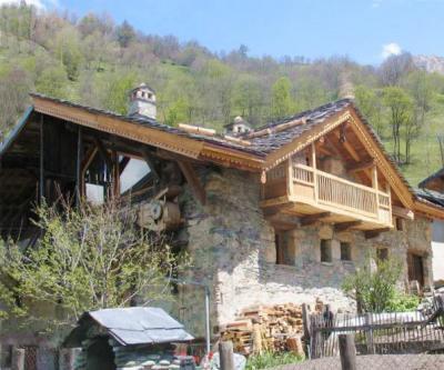 Location au ski Chalet duplex 5 pièces 8 personnes - Chalet Coeur Du Paradis - Peisey-Vallandry - Extérieur été