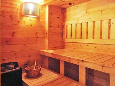 Vacances en montagne Chalet Coeur du Paradis - Peisey-Vallandry - Sauna