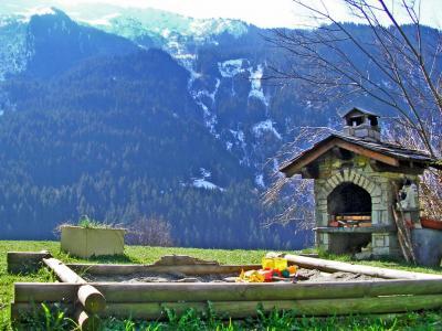 Vacances en montagne Chalet Côte Arbet - Champagny-en-Vanoise - Extérieur été
