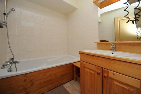 Vacances en montagne Appartement 3 pièces 6 personnes - Chalet Cristal - Les Menuires - Baignoire