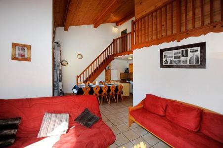 Vacances en montagne Appartement duplex 4 pièces 10 personnes - Chalet Cristal - Les Menuires - Séjour