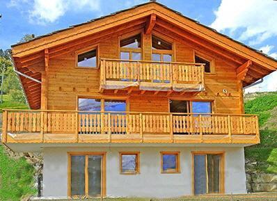 Location au ski Chalet 6 pièces 10 personnes - Chalet Croix Blanche - Thyon - Extérieur été