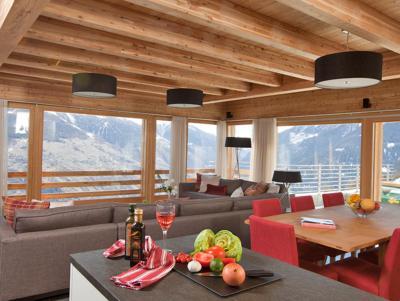 Vacances en montagne Chalet Dargan - Thyon - Salle à manger