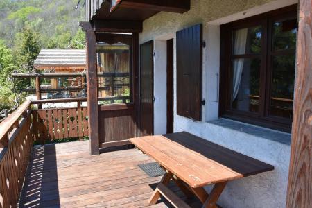 Rent in ski resort Chalet de Bornoua - Courchevel - Summer outside