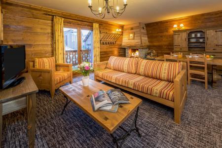 Vacances en montagne Appartement 3 pièces 4-6 personnes - Chalet de l'Ours - Les Arcs - Séjour