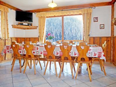 Vacances en montagne Chalet de la Côte - Champagny-en-Vanoise - Salle à manger