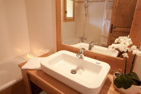 Vacances en montagne Chalet de la Dame Blanche - Les Menuires - Salle de bains