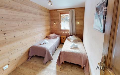 Holiday in mountain resort 10 room chalet 18 people (LET) - Chalet de la Villette - Saint Martin de Belleville - Bedroom