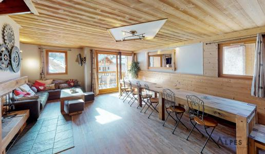 Holiday in mountain resort 10 room chalet 18 people (LET) - Chalet de la Villette - Saint Martin de Belleville - Dining area